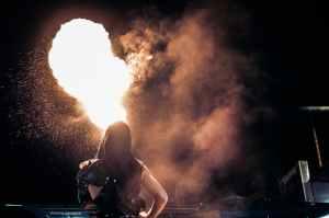explosion fire smoke dance